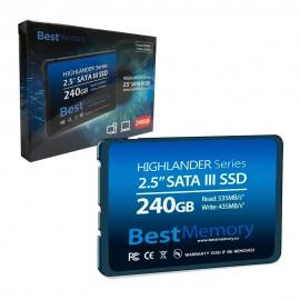 SSD 240GB SATA 3 - BEST MEMORY